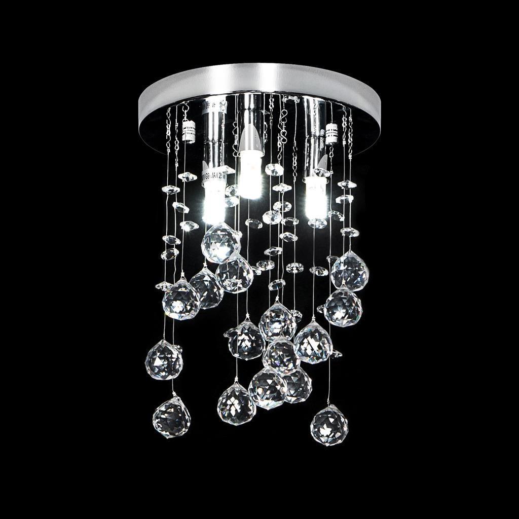 Starlight Crystal LED Ceiling Light, 20cm