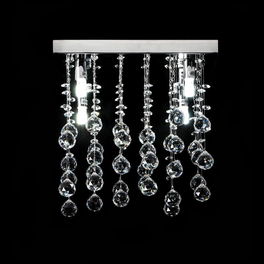 Starlight Crystal LED Ceiling Light, 30cm