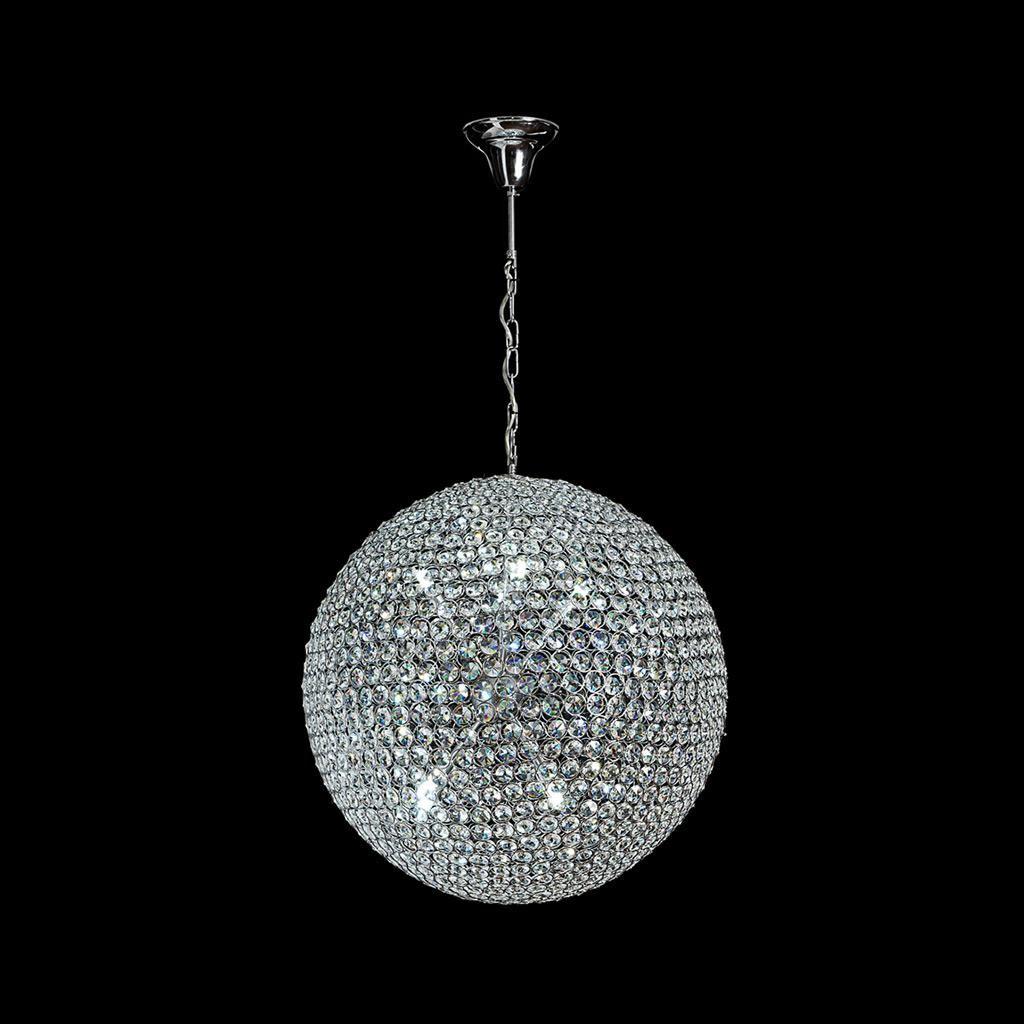 Venus Crystal LED Pendant Light, 60cm