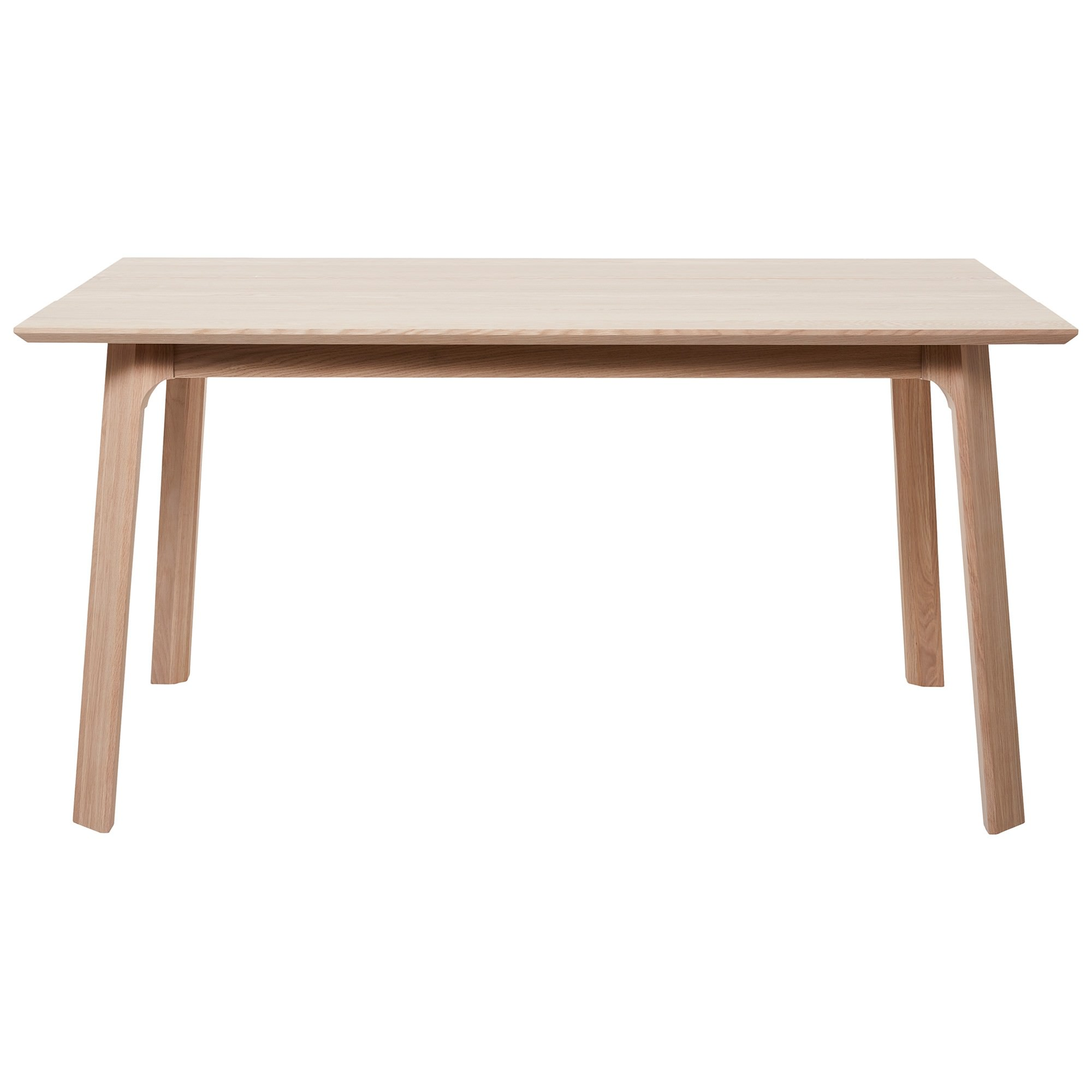 Capri White Oak Timber Dining Table, 200cm