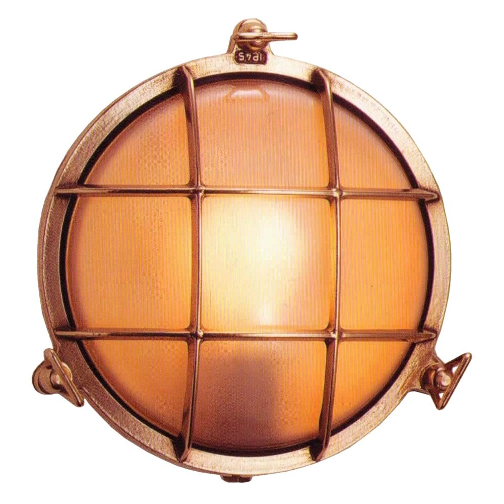 Scarborough Small Cast Brass Round Bunker - Made In Italy