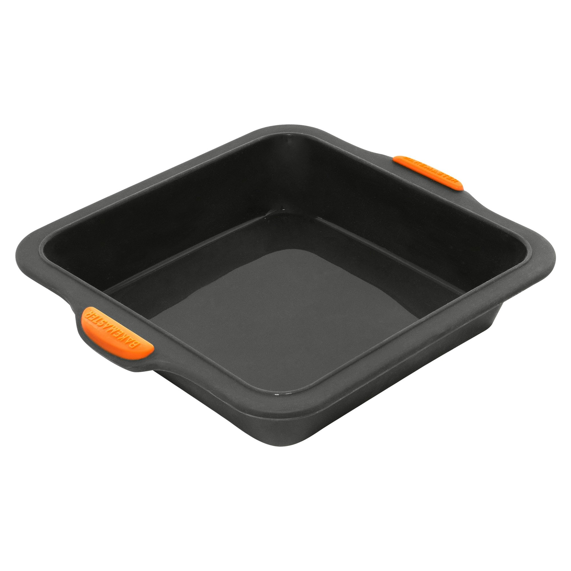 Bakemaster Reinforced Silicone Square Cake Pan, 20cm