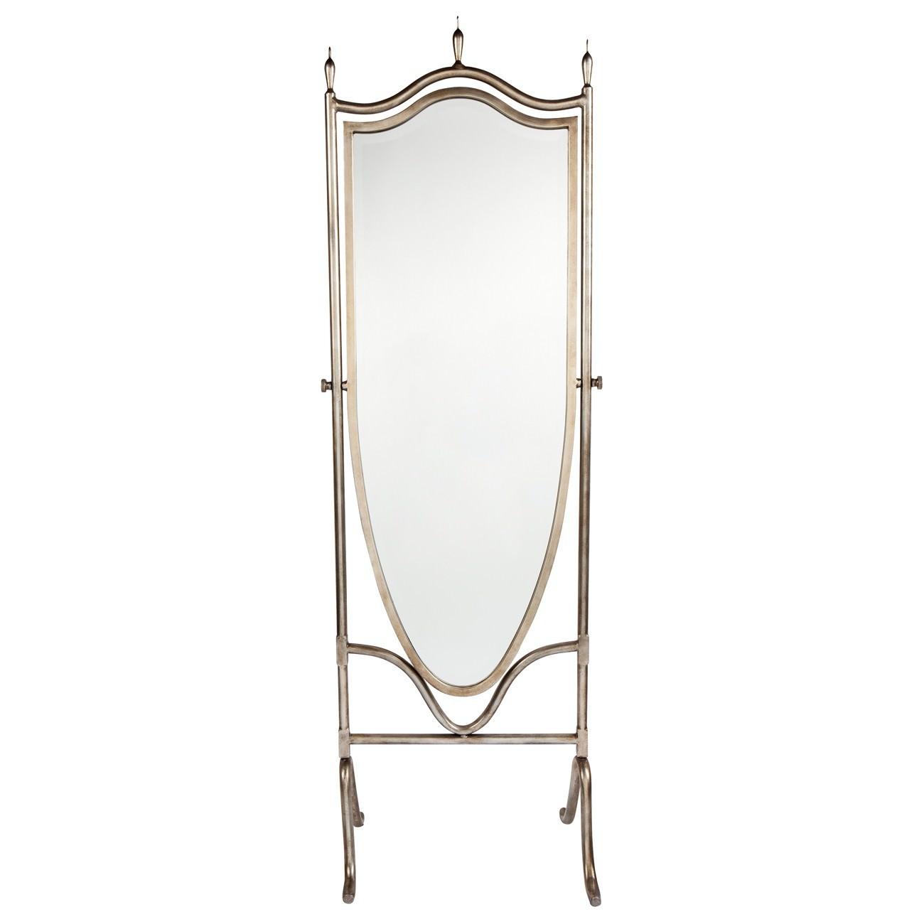 Lillian Metal Frame Cheval Mirror, 189cm