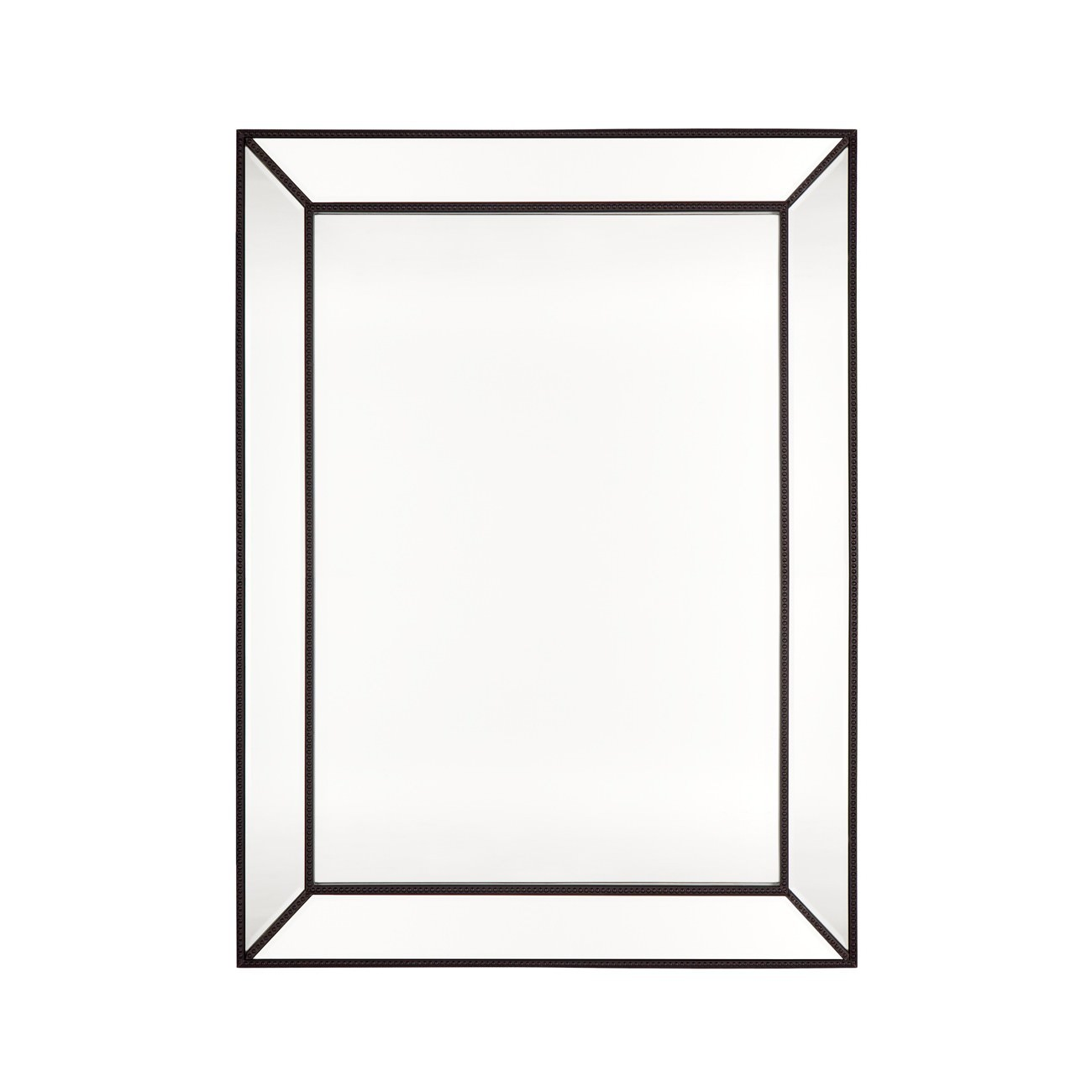 Zeta Wall Mirror, 120cm, Black