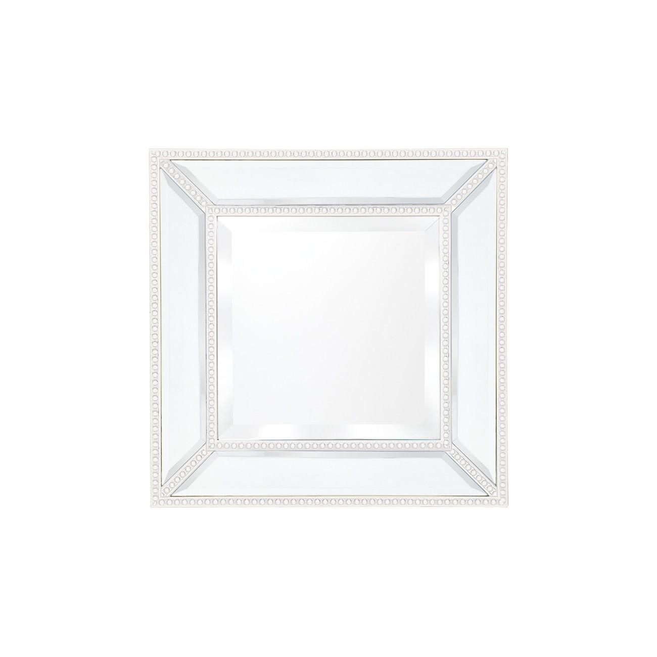 Zeta Wall Mirror, 38cm, White