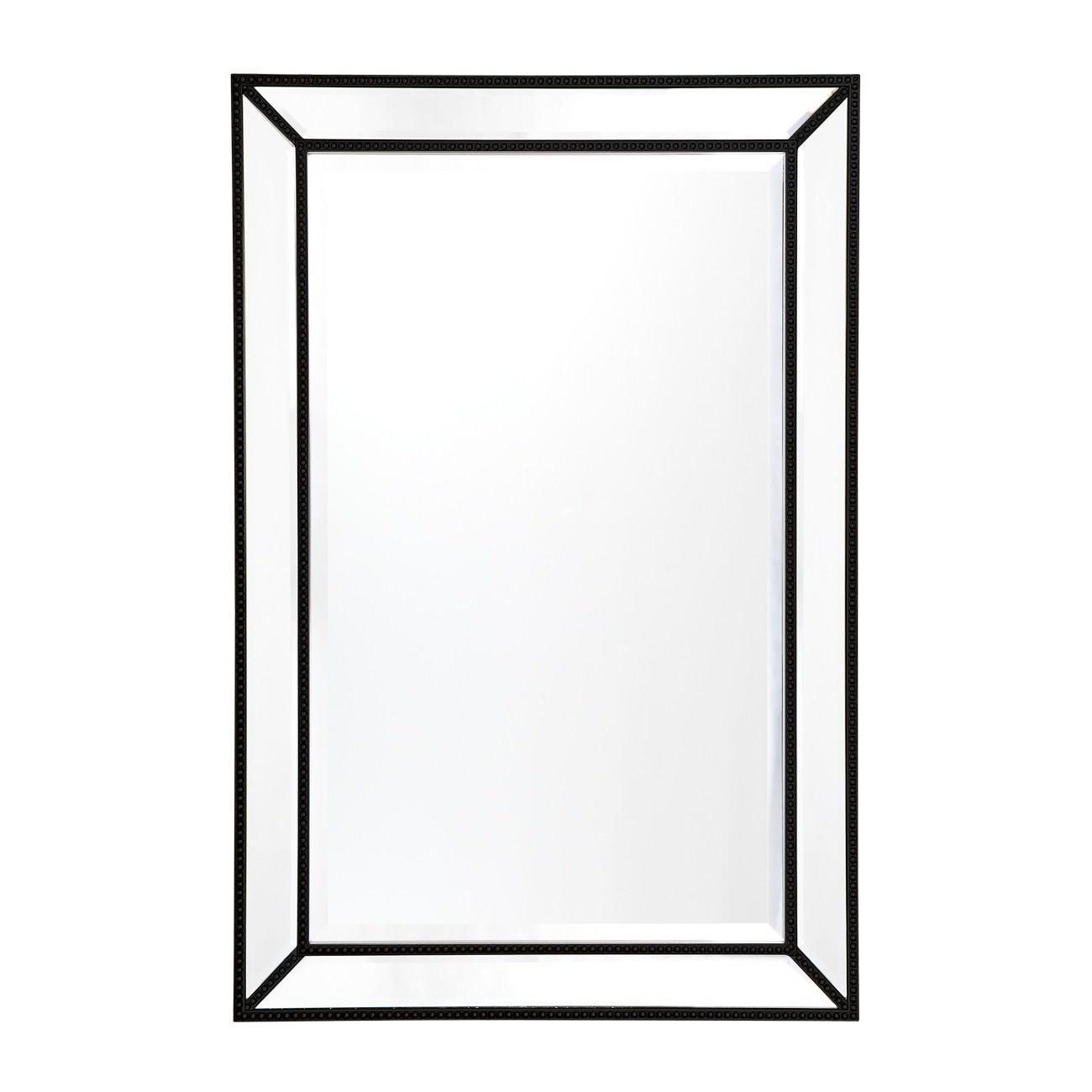 Zeta Wall Mirror, 92cm, Black