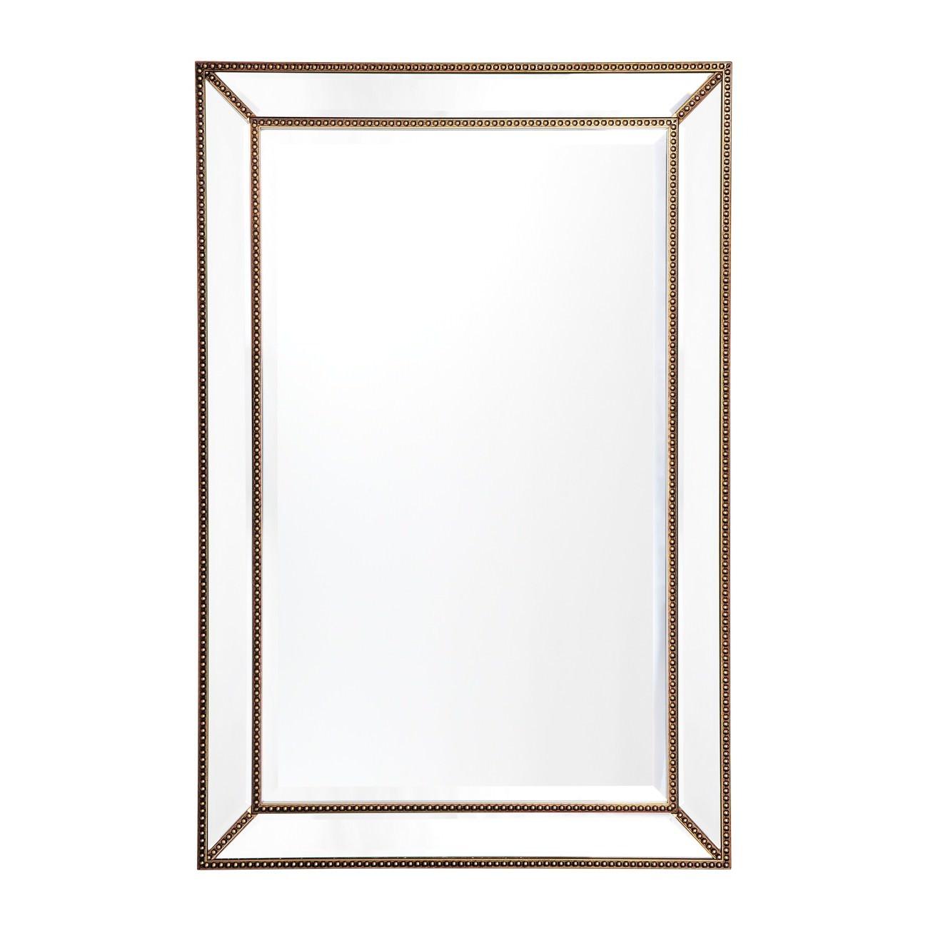 Zeta Wall Mirror, 92cm, Antique Gold