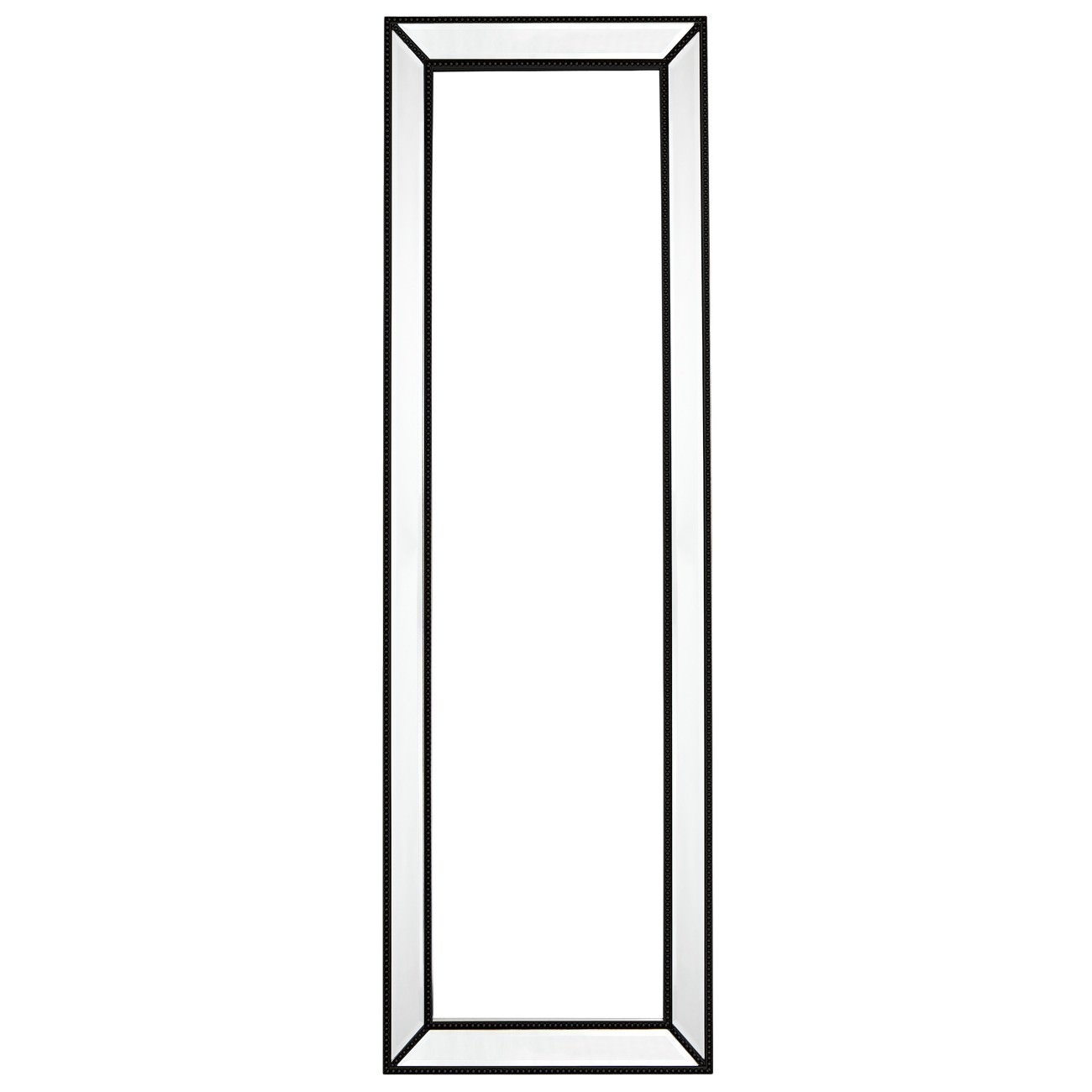 Zeta Cheval Mirror, 155cm, Black