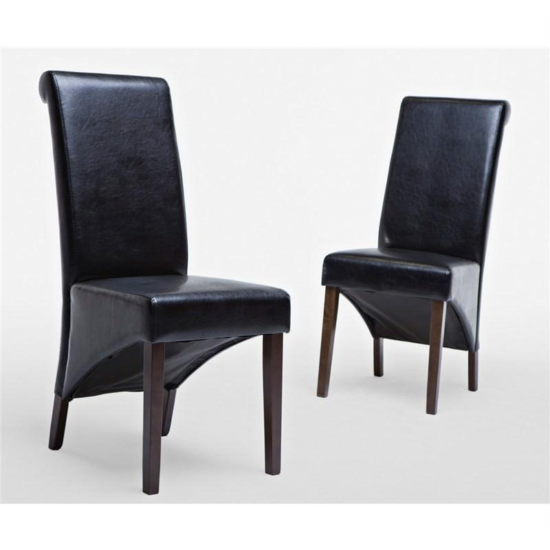 Toledo Chair in Black (set of 2)