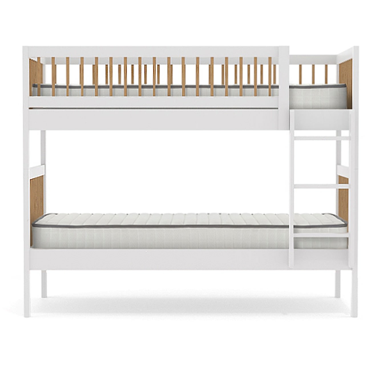 Nord Wooden Bunk Bed, Single
