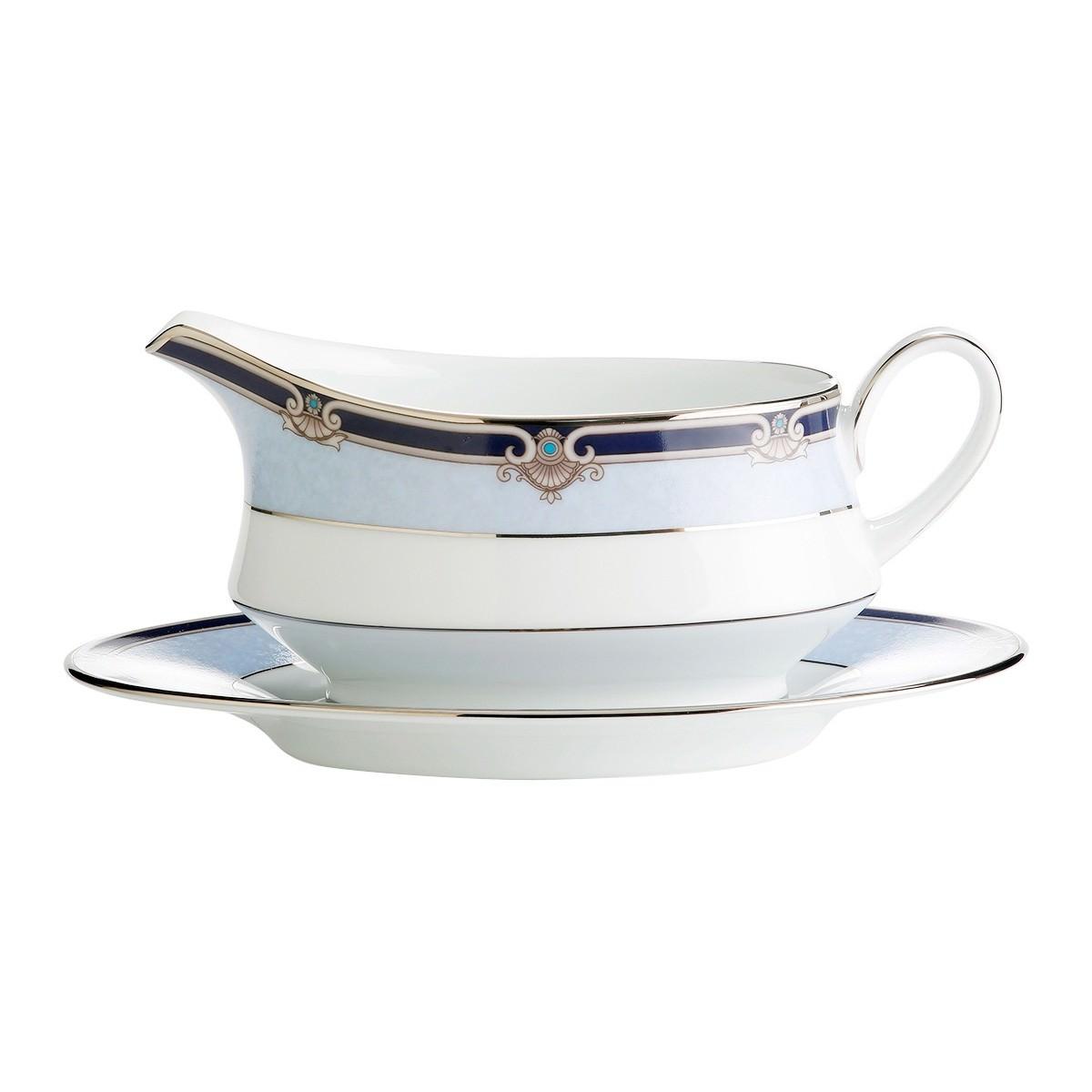 Noritake Springbrook Fine Porcelain Gravy Boat