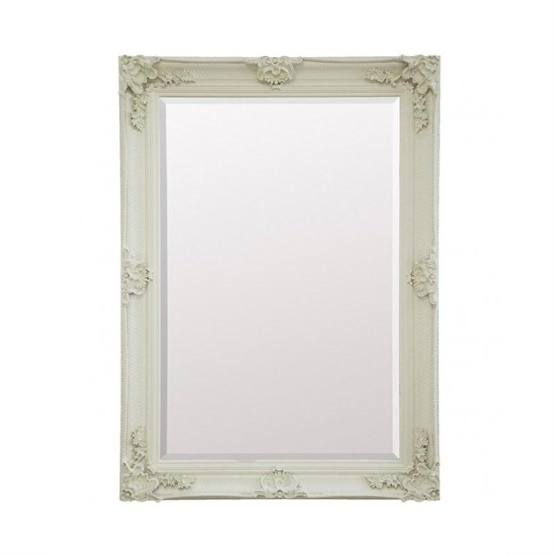 Arley Wall Mirror, 110cm, Cream