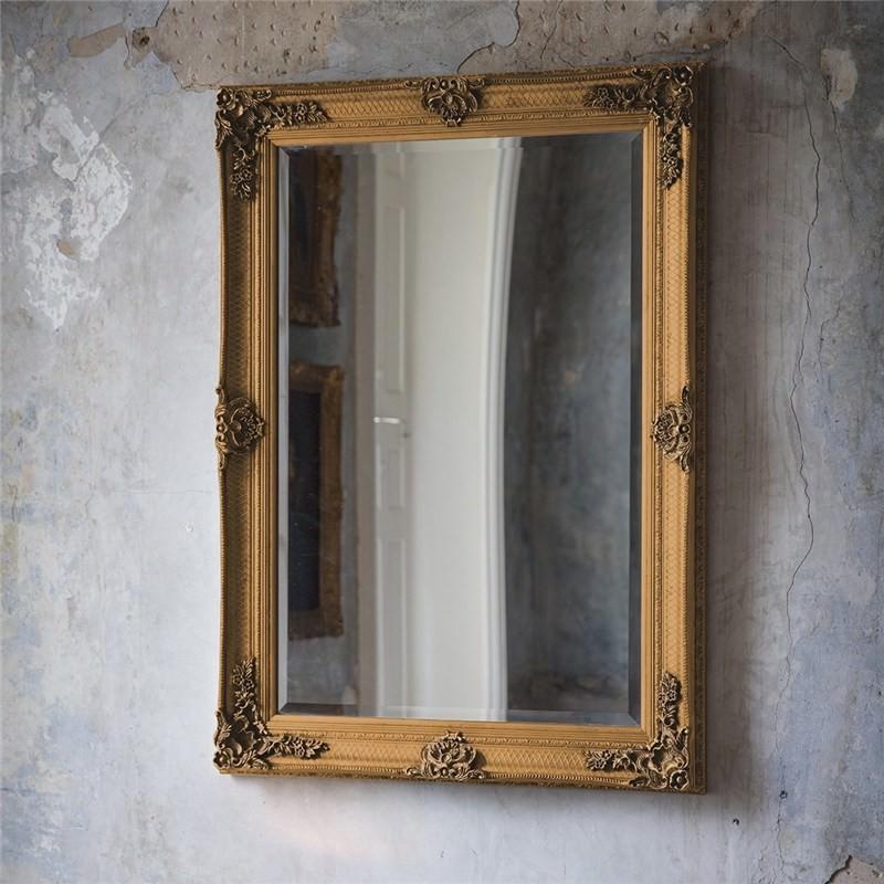 Arley Wall Mirror, 110cm, Gold