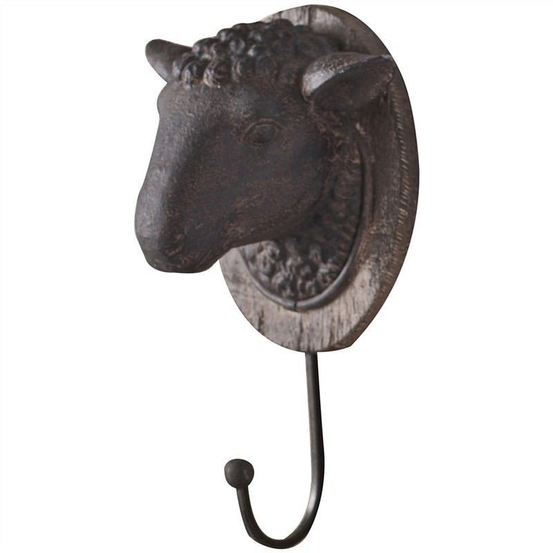 Sheep Head Wall Hook