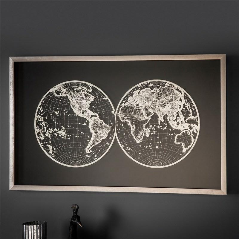 Atlas Framed Wall Art