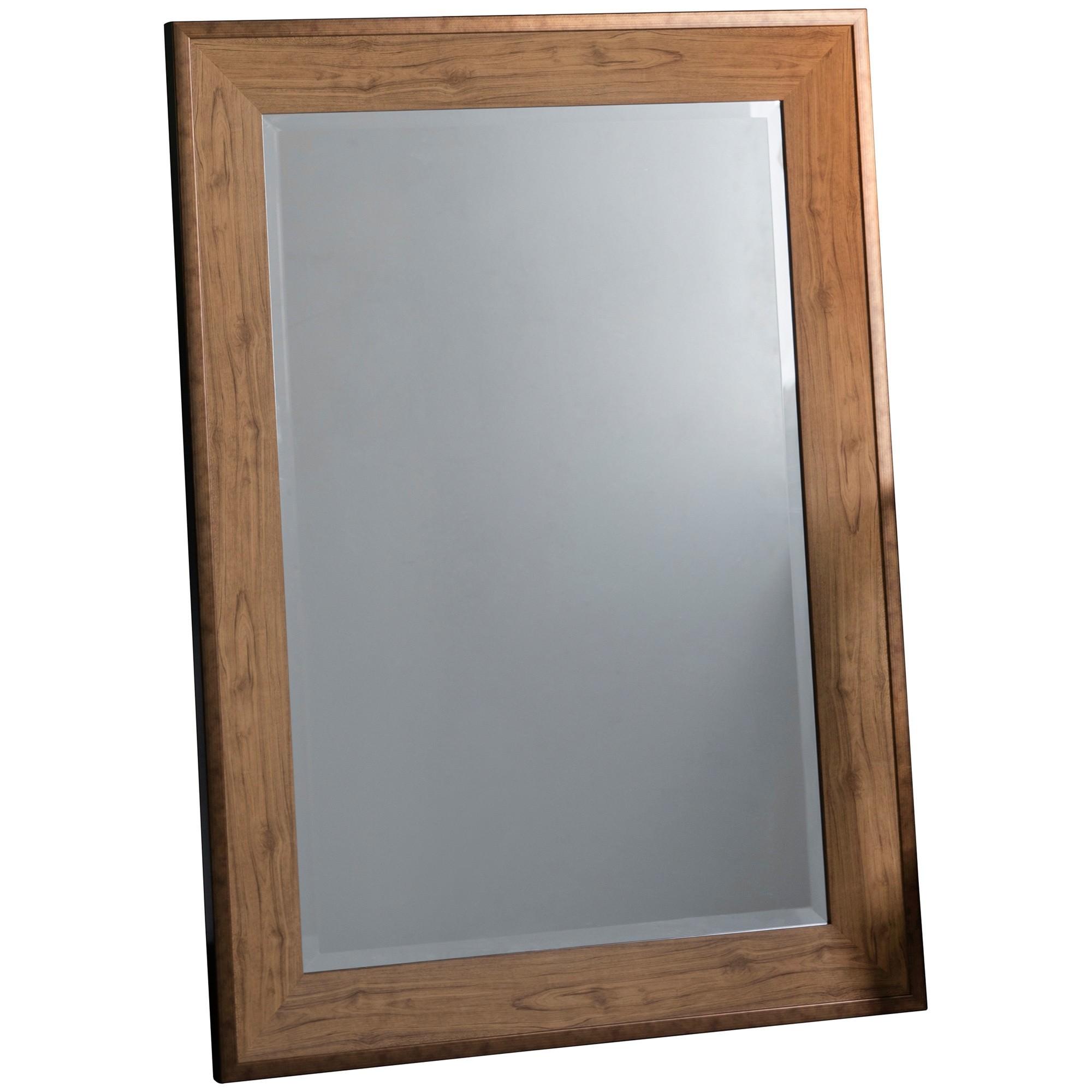 Barrington Wall Mirror, 110cm, Oak