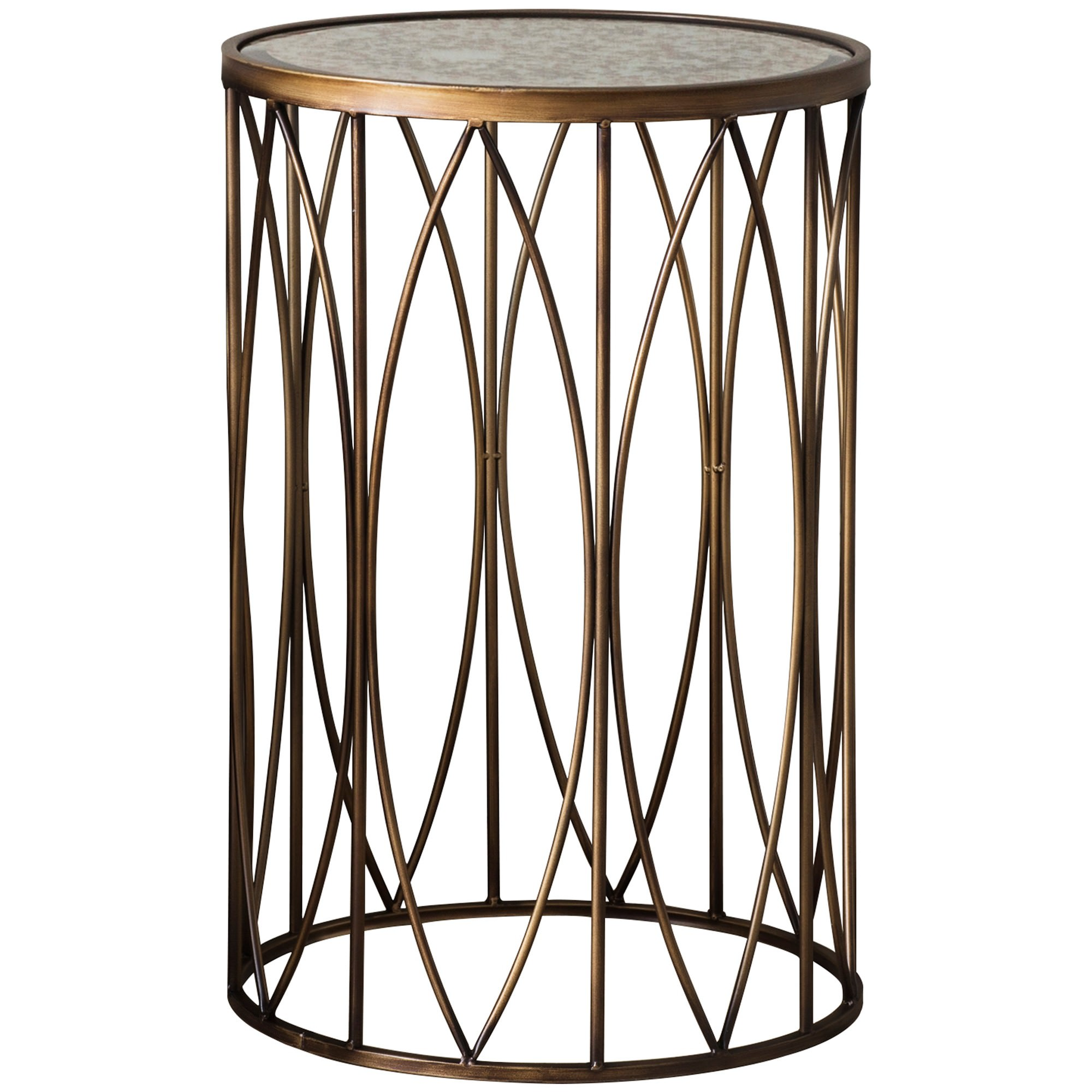 Harvey Metal Round Side Table