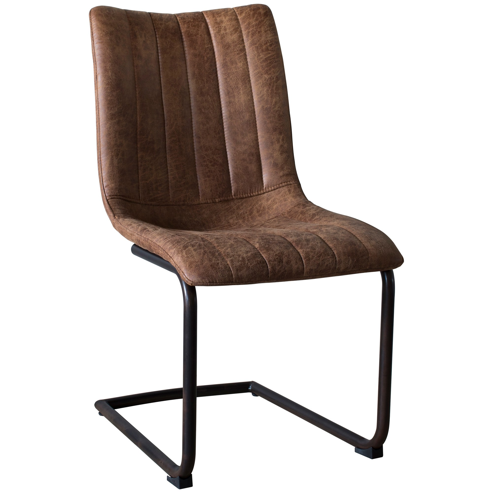 Erin Faux Leather Dining Chair, Set of 2, Tan