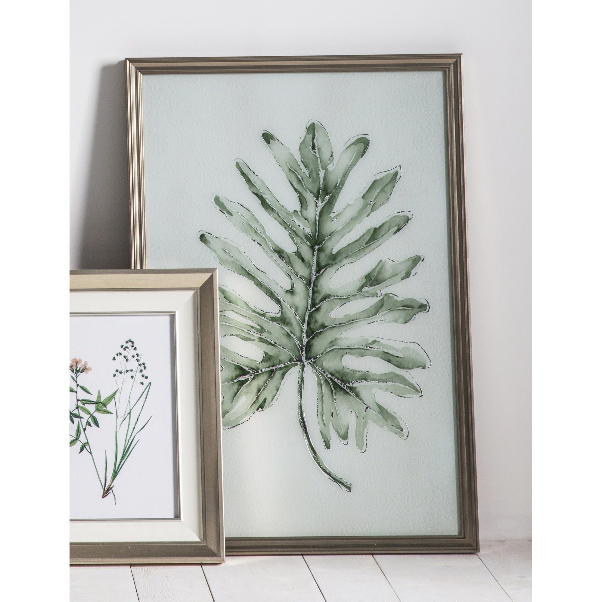 Early Leaf Framed Wall Art Print, 96cm