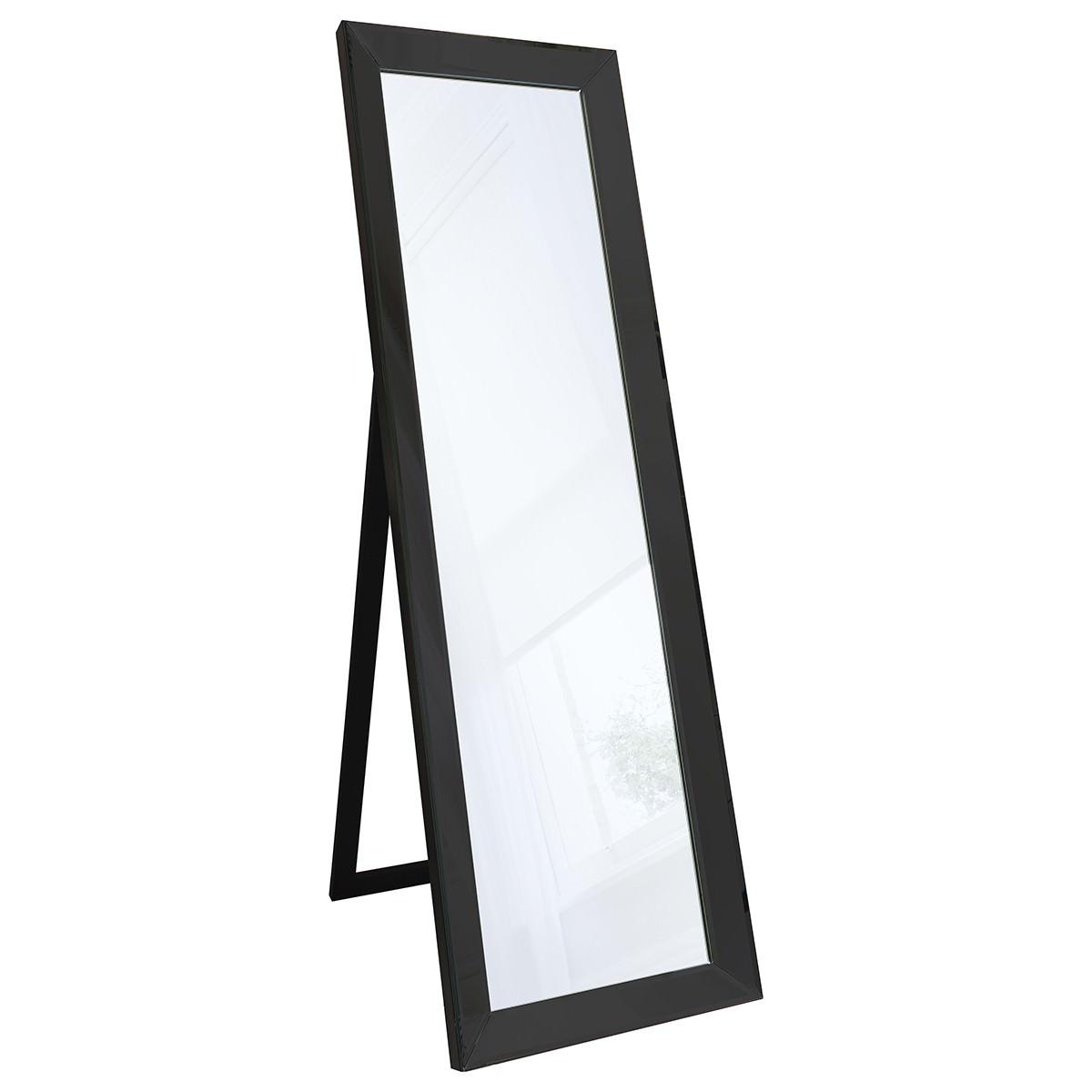 LibbyWooden Frame ChElenal Mirror, 155cm, Black