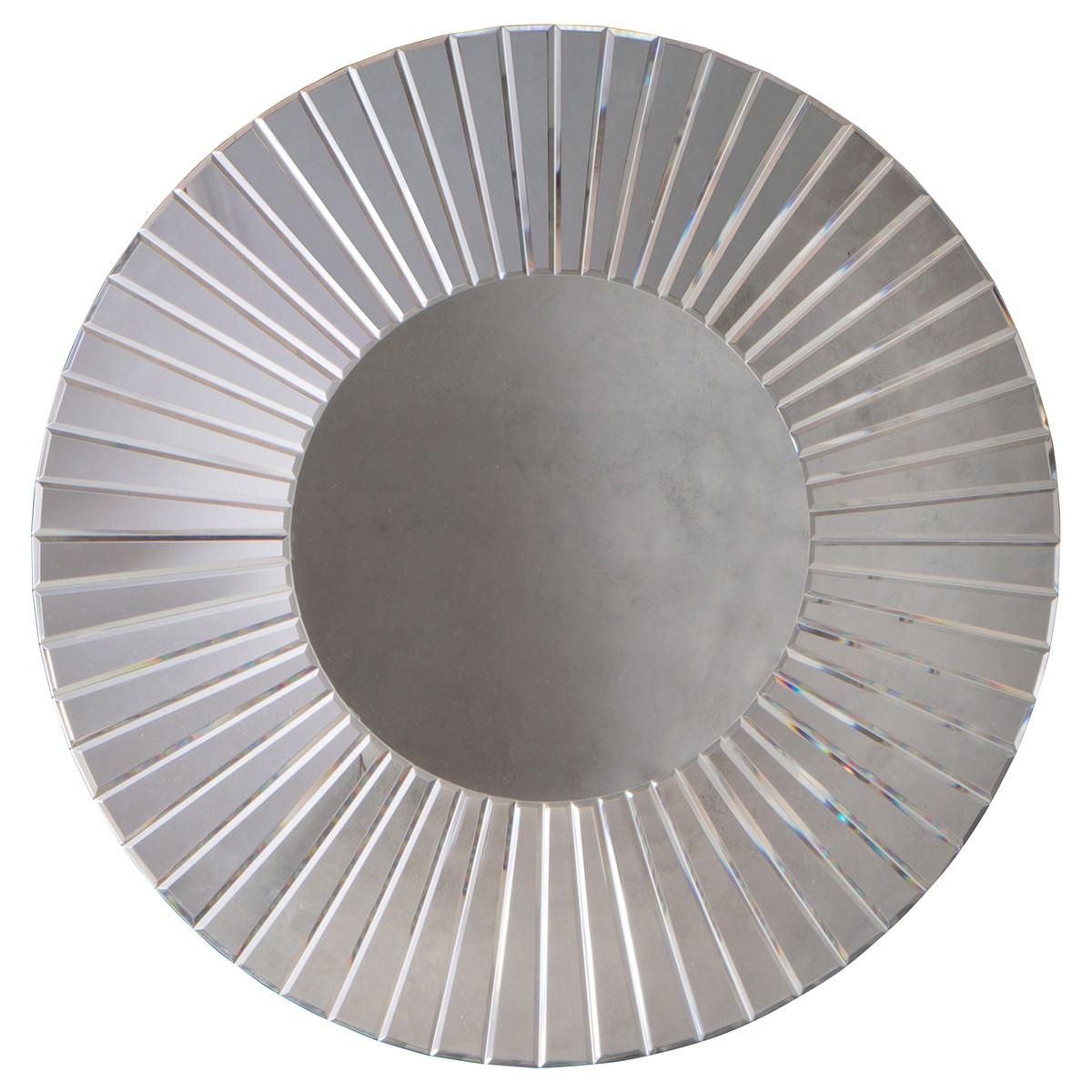 Frankie Round Wall Mirror, 80cm, Mirror