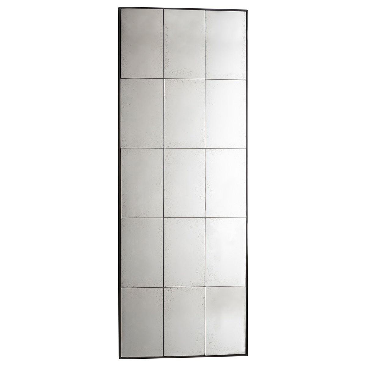 Berte Metal Frame Leaner Floor Mirror, 160cm