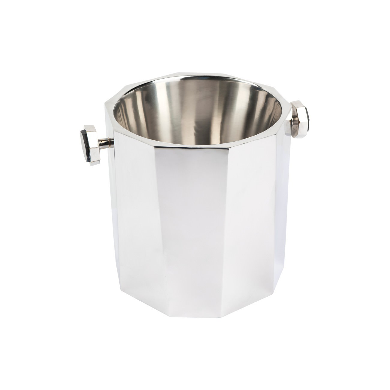 Martinique Stainless Steel Ice Bucket Silver