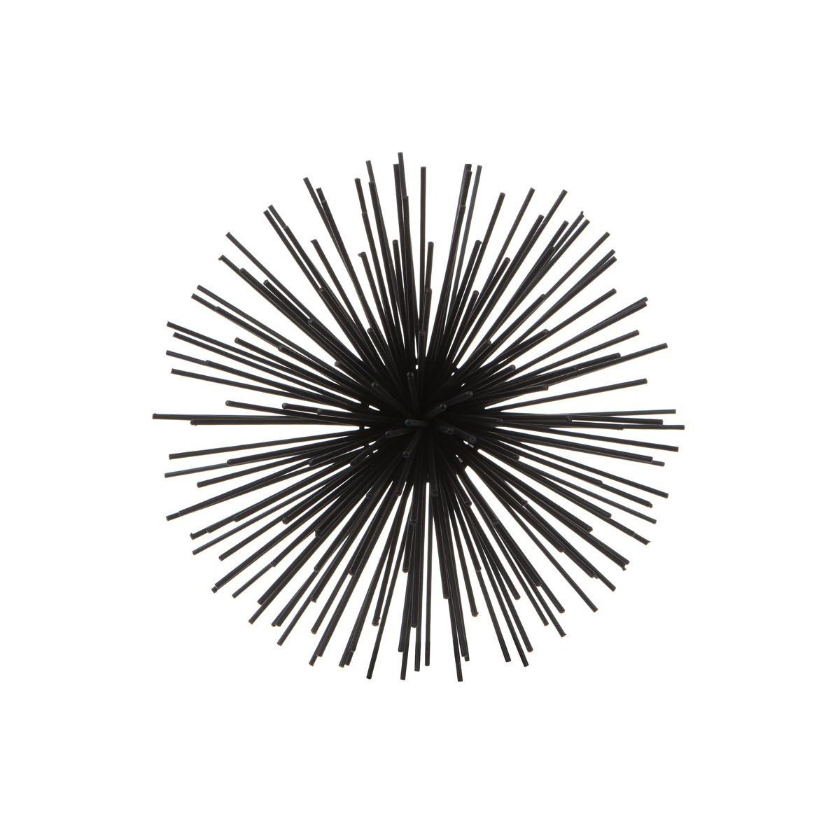 Sputnik Iron Wall Art, Small, Black