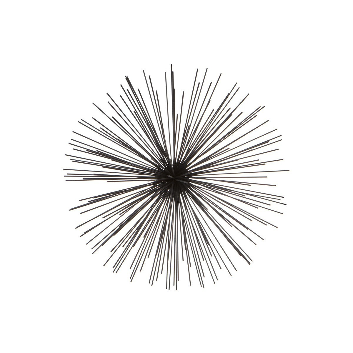 Sputnik Iron Wall Art, Large, Black