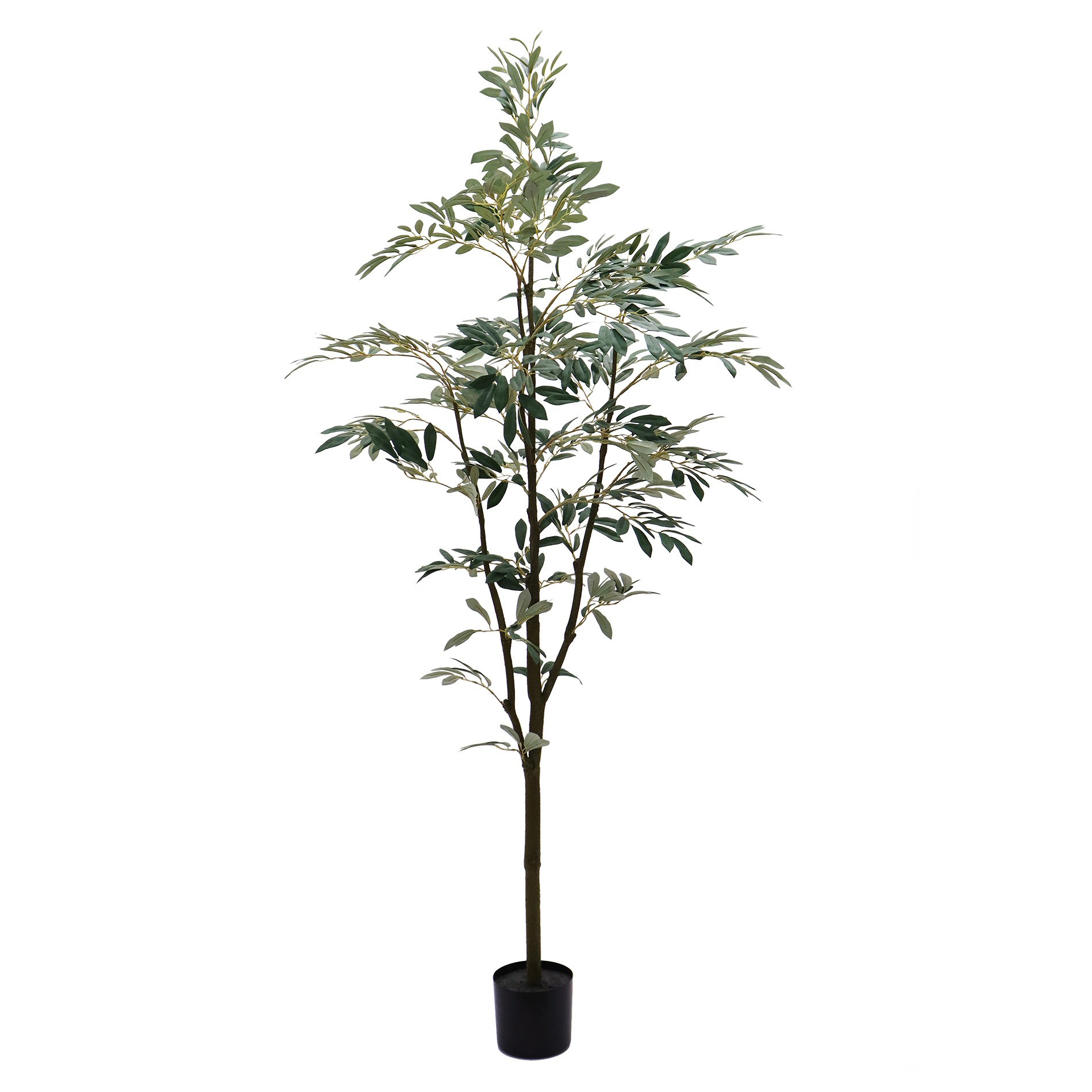 Potted Artificial Olive Tree, 180cm-I