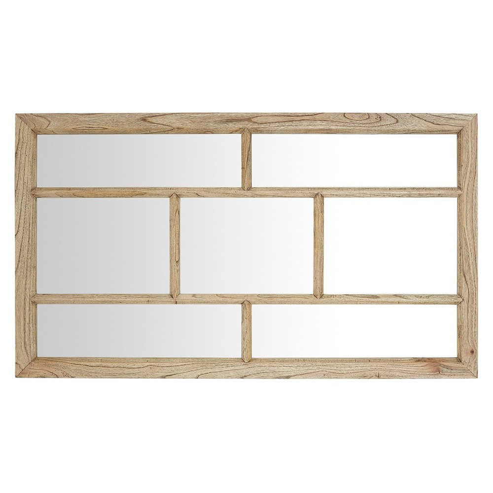 Macaire Mindy Wood Frame Wall Mirror, 160cm