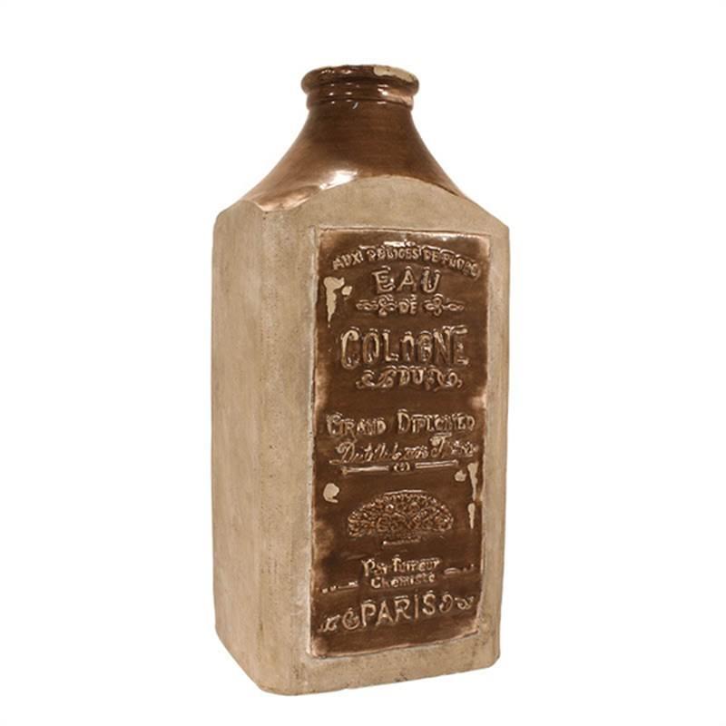 Jardinier Slate Brown Cologne Bottle - 35cm