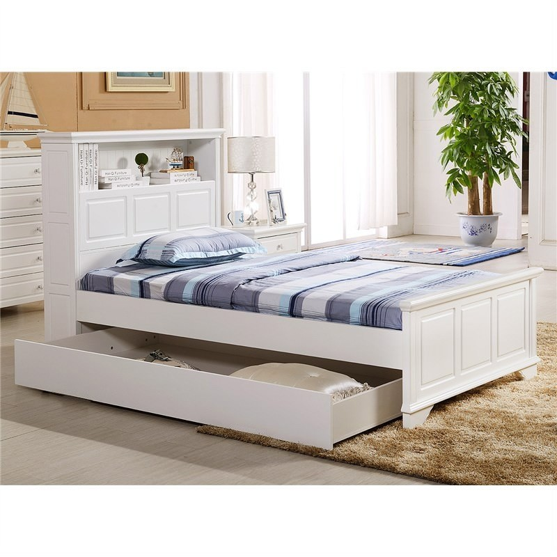 Liszt King Single Bed with Trundle