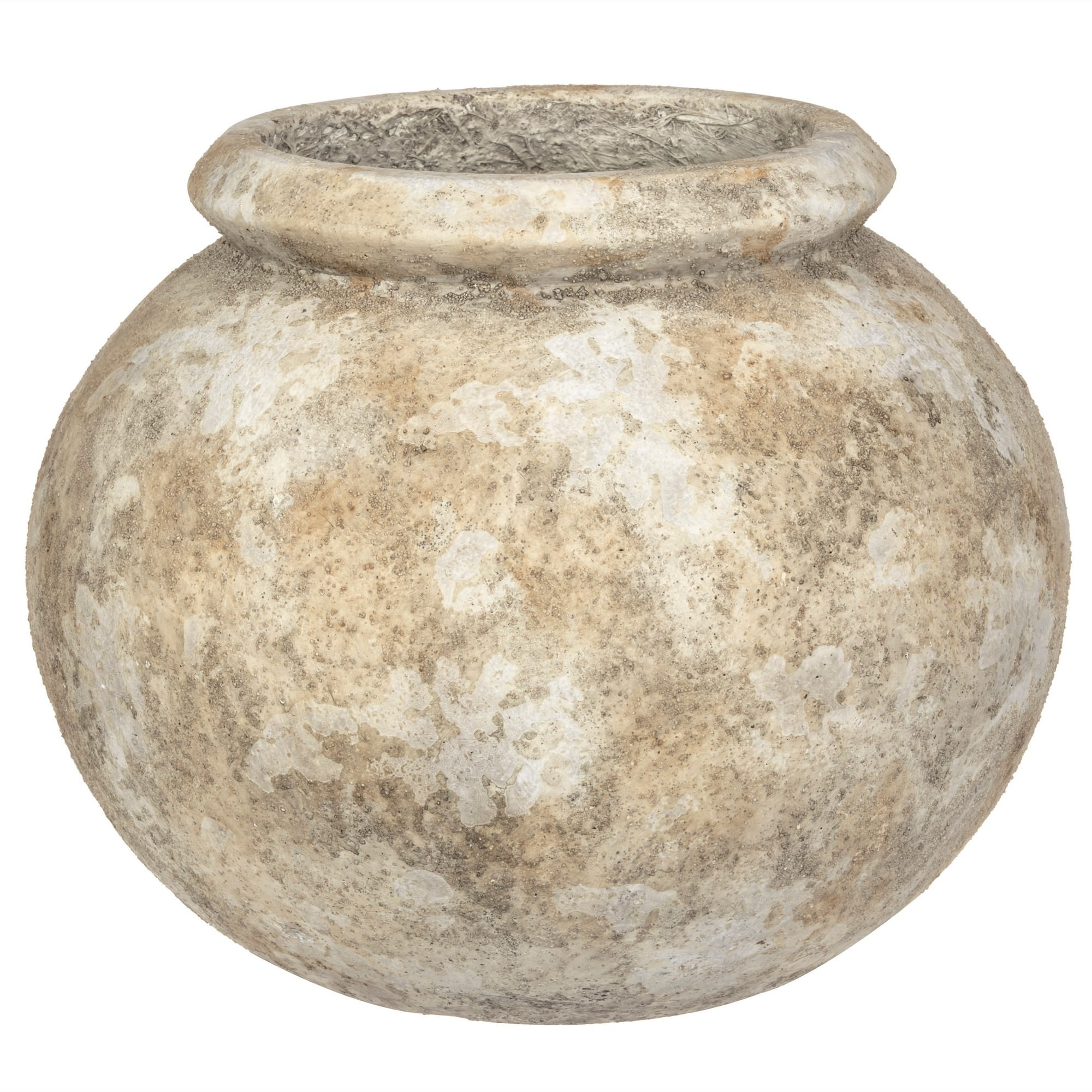 Carlos Cement Bell Planter, Large