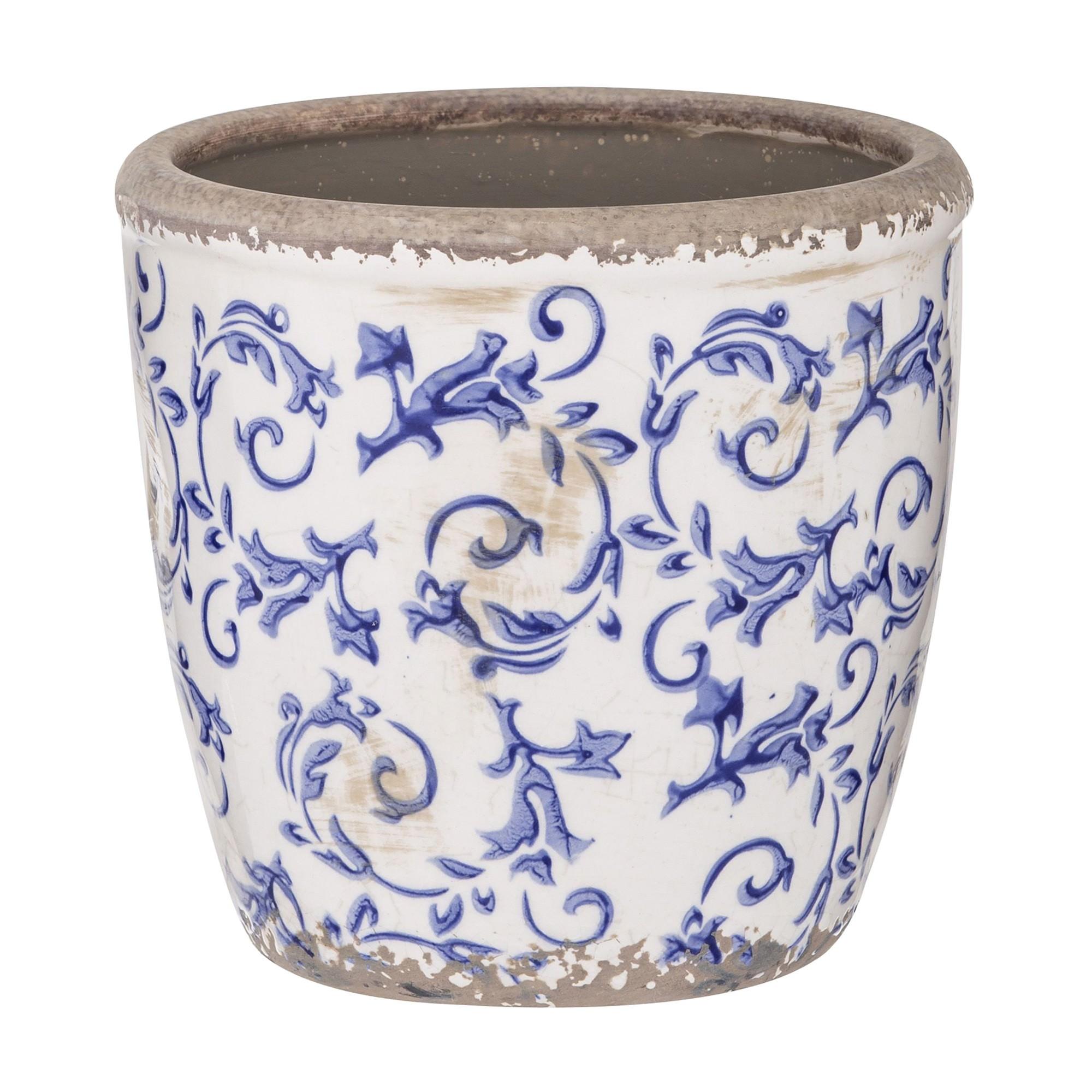 Fleur Ceramic Pot, Medium