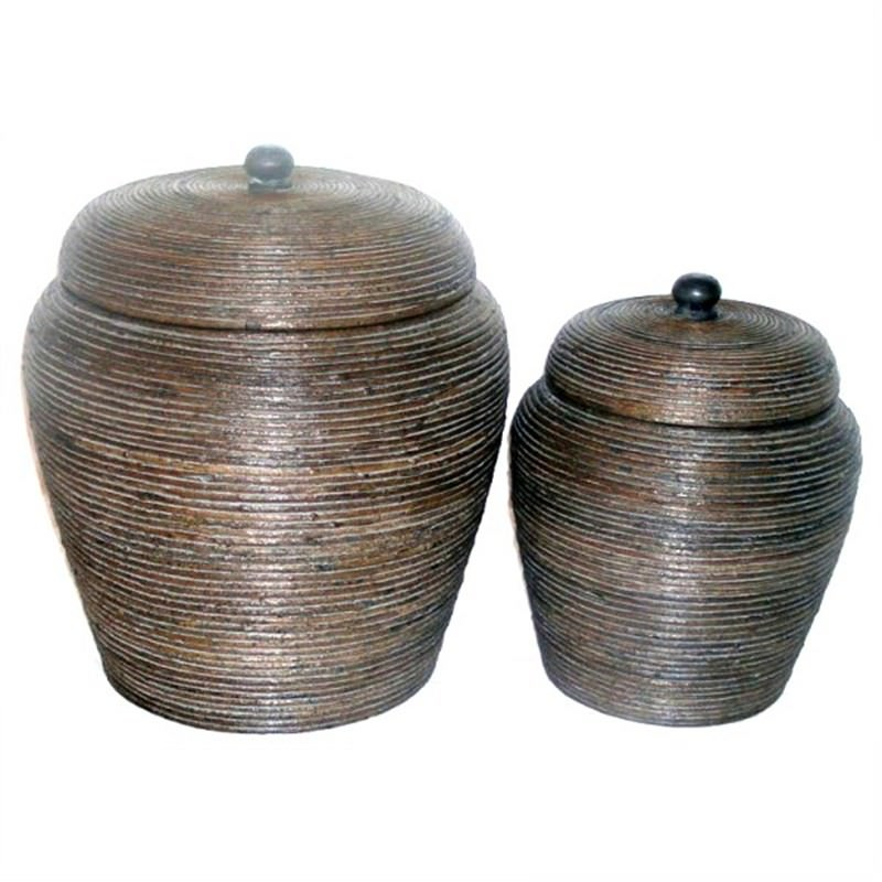 S/2 Bamboo Baskets (57Cm and 45Cm)