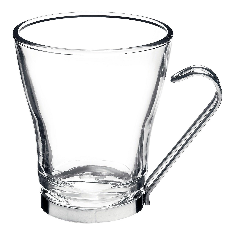 Bormioli Rocco Oslo Cappuccino Cups, Set of 4