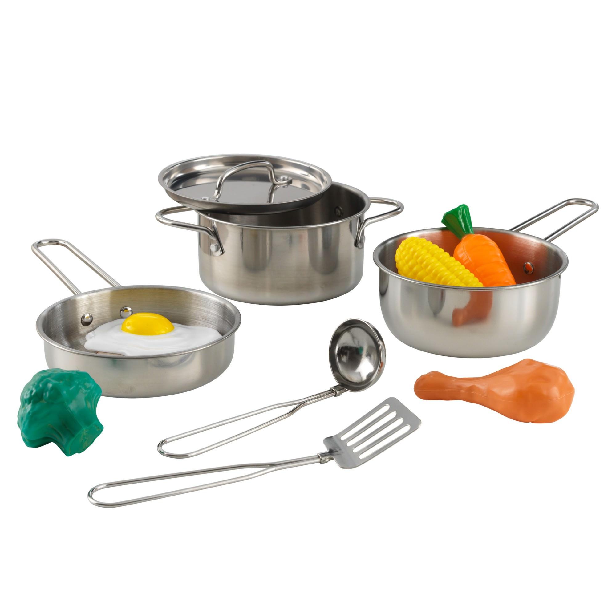 Kidkraft Deluxe Metal Cookware Set