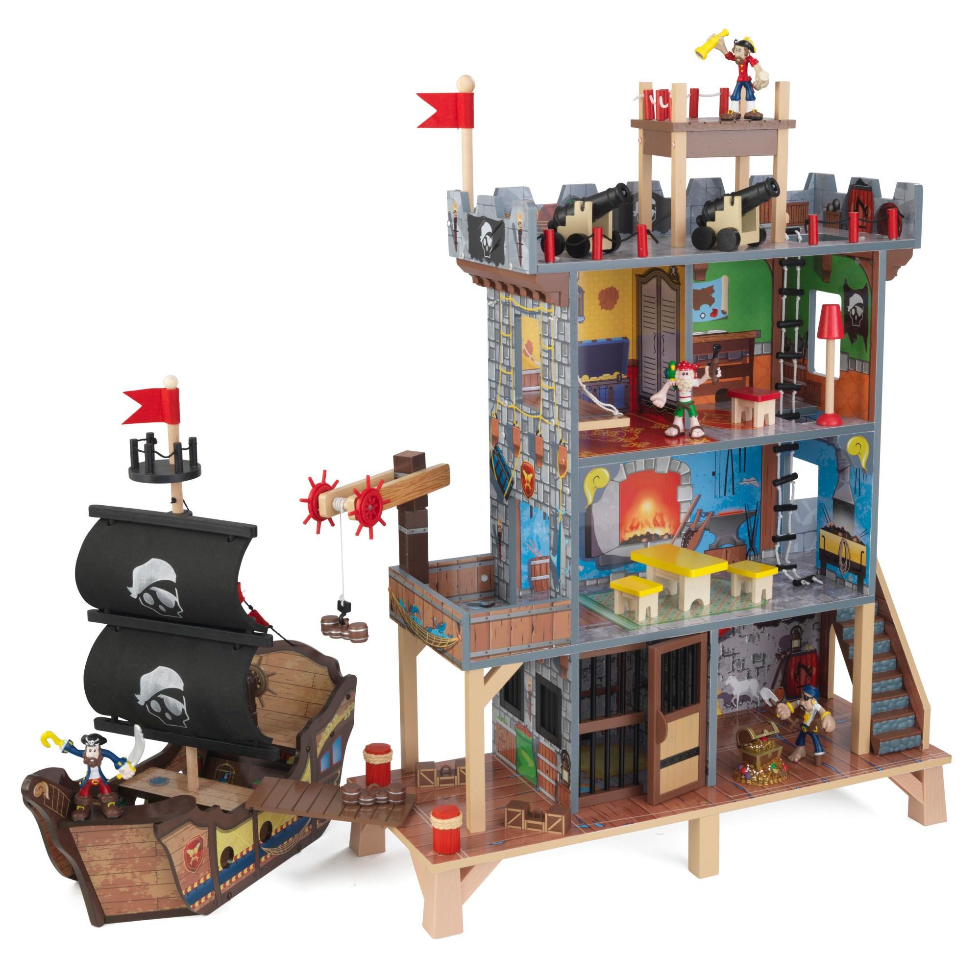 KidKraft Pirate Cove Wooden Play Set