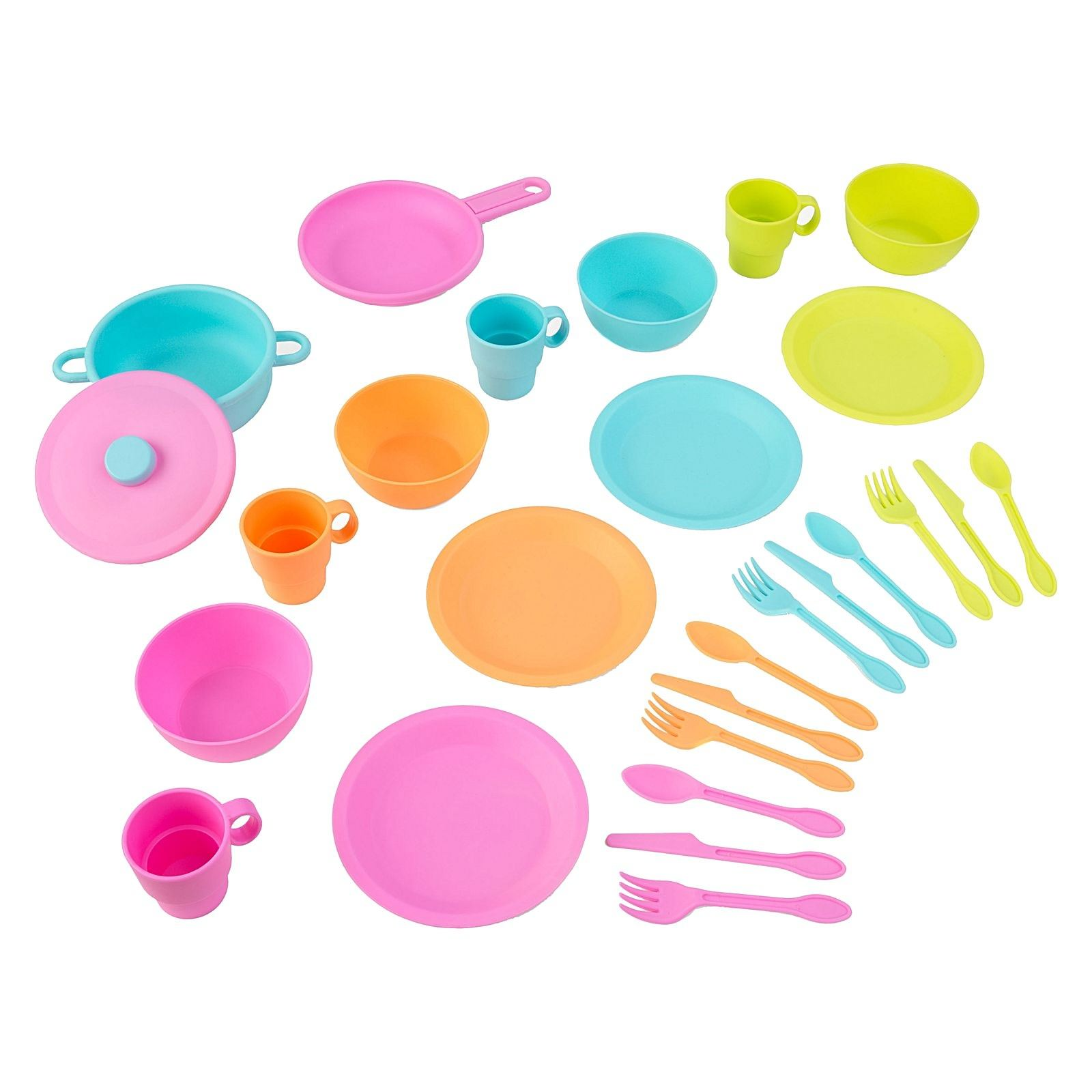 KidKraft 27 Piece Bright Cookware Playset