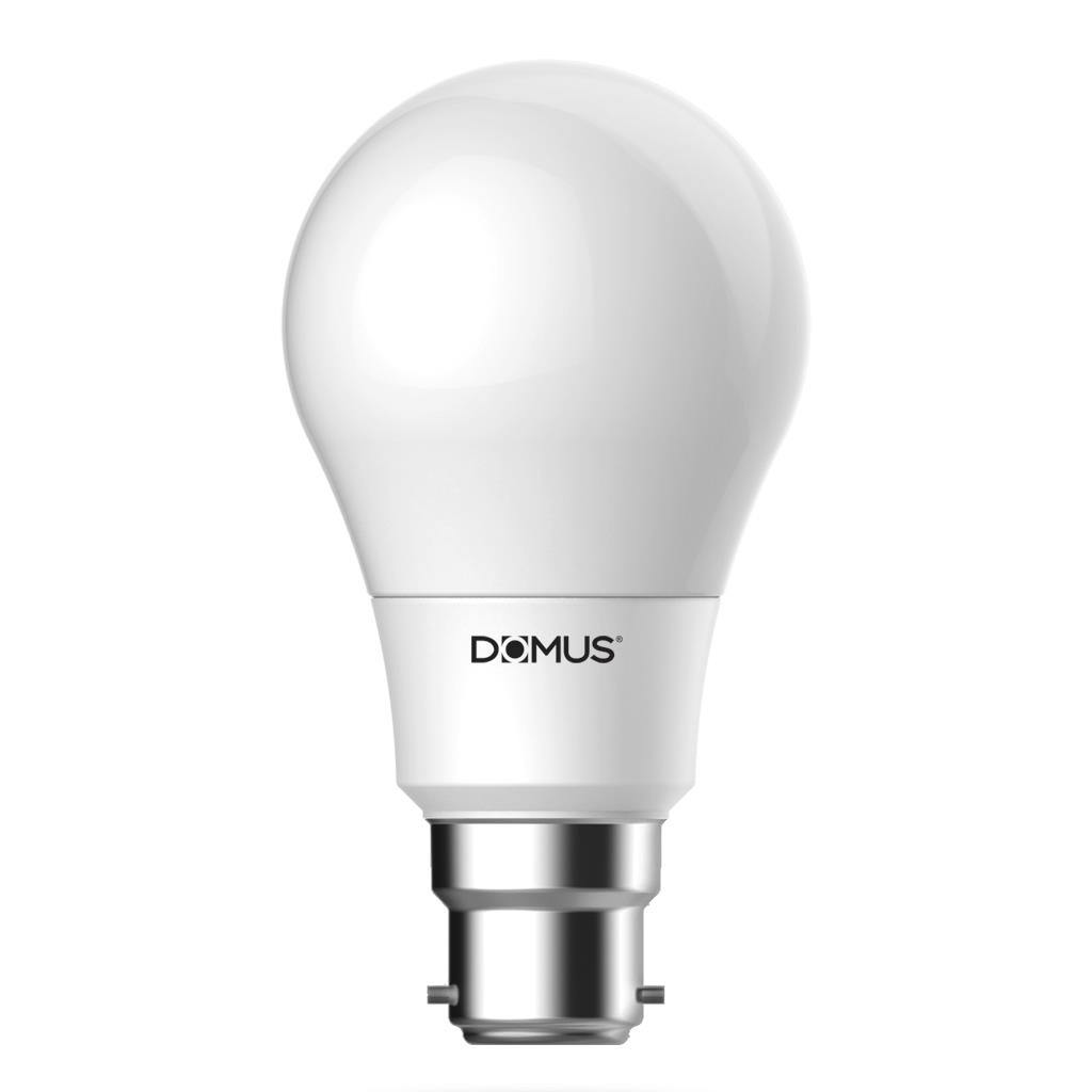 Key Dimmable LED Globe, B22, 6500K, GLS Shape, Frosted