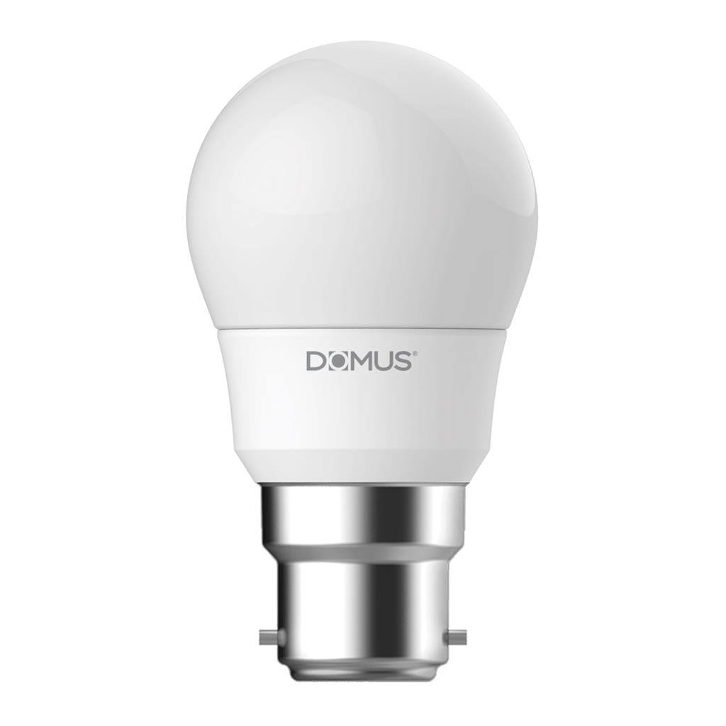 Key Dimmable LED Globe, B22, 6500K, Fancy Round Shape,  Frosted