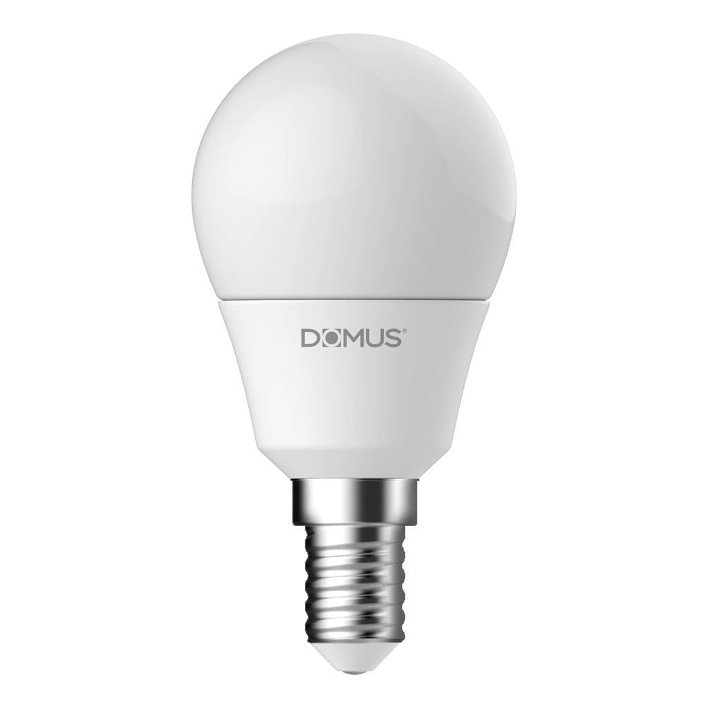 Key Dimmable LED Globe, E14, 6500K, Fancy Round Shape,  Frosted