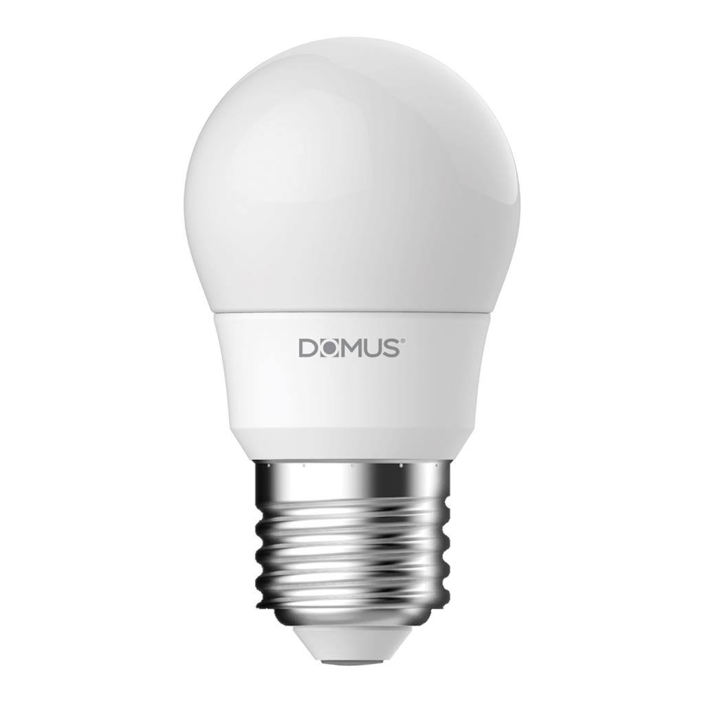 Key Dimmable LED Globe, E27, 2700K, Fancy Round Shape,  Frosted
