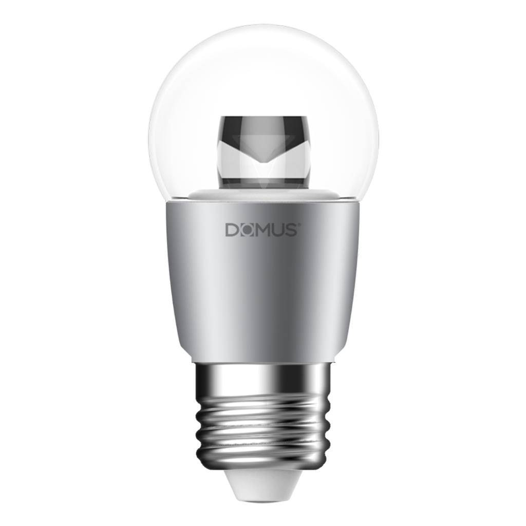Key Dimmable LED Globe, E27, 6500K, Fancy Round Shape,  Clear