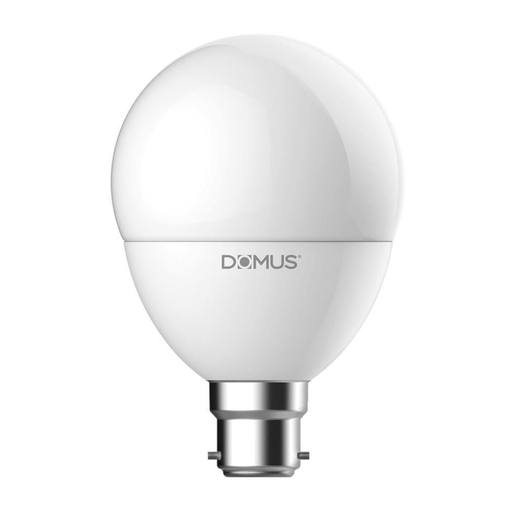 Key LED Globe, B22, 2700K, G80 Shape, Frosted