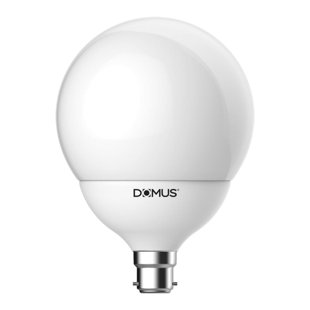 Key LED Globe, B22, 2700K, G120 Shape, Frosted