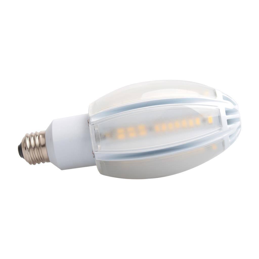 Key IP62 LED Globe, E27, 3000K, Corn Shape