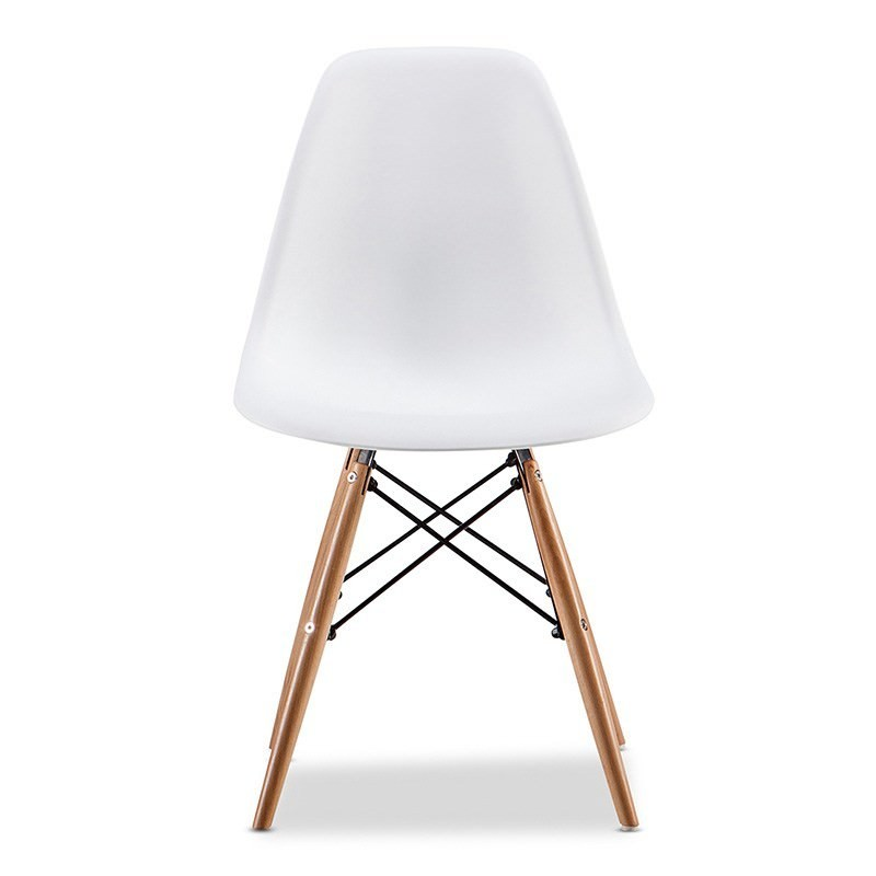 Replica Eames DSW Side Chair, White