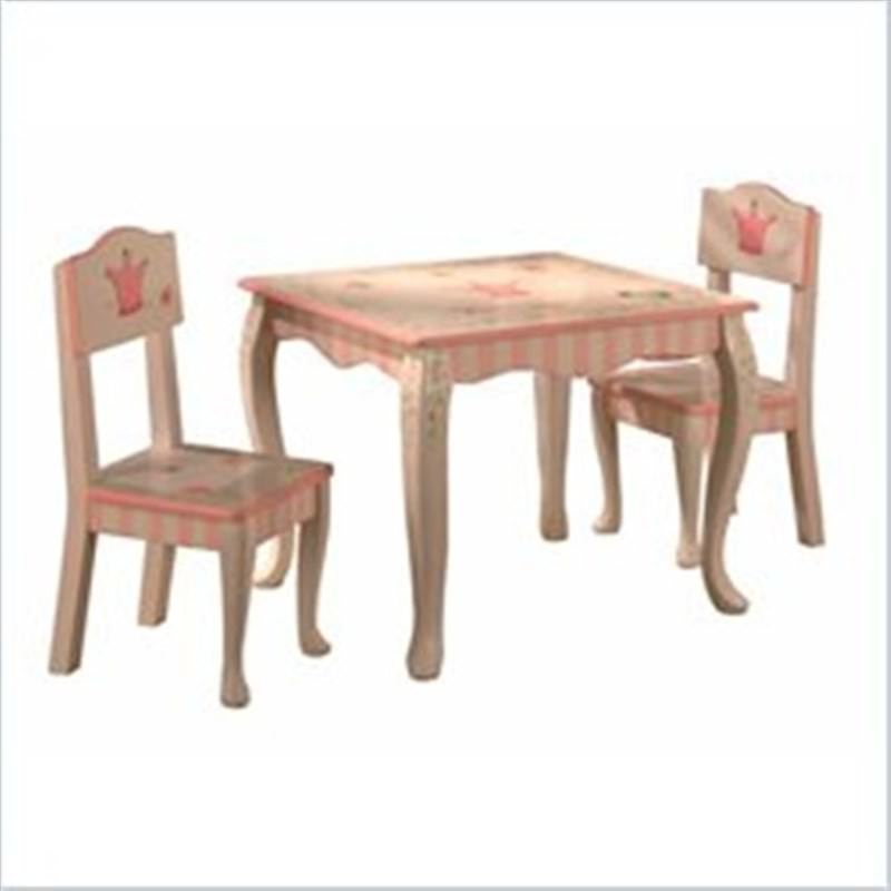 Teamson Princess and Frog Table and 2 Chair Set